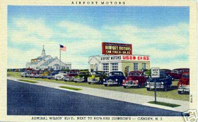Ford Dealers Nj >> POSTCARD IMAGES of CAMDEN - Car Dealers